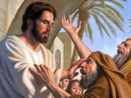Jesus Cura um Cego